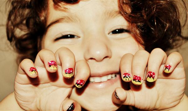 Как сделать детские ногти